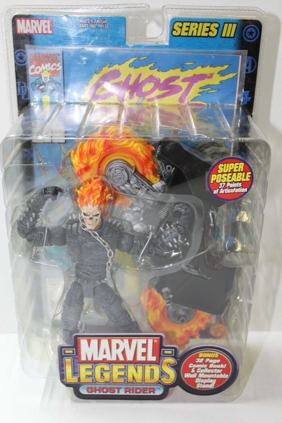 Marvel Legends Ghost Rider Series III 6 in Figure  FREE SHIPPING
