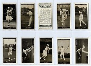 Full-Set-Churchman-Lawn-Tennis-1928-VG-Gy103-282