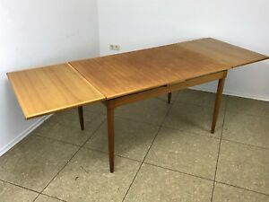 60er-70er-Jahre-Oak-Eiche-Esstisch-Dining-Table-Danish-Modern-Design-Denmark-60s