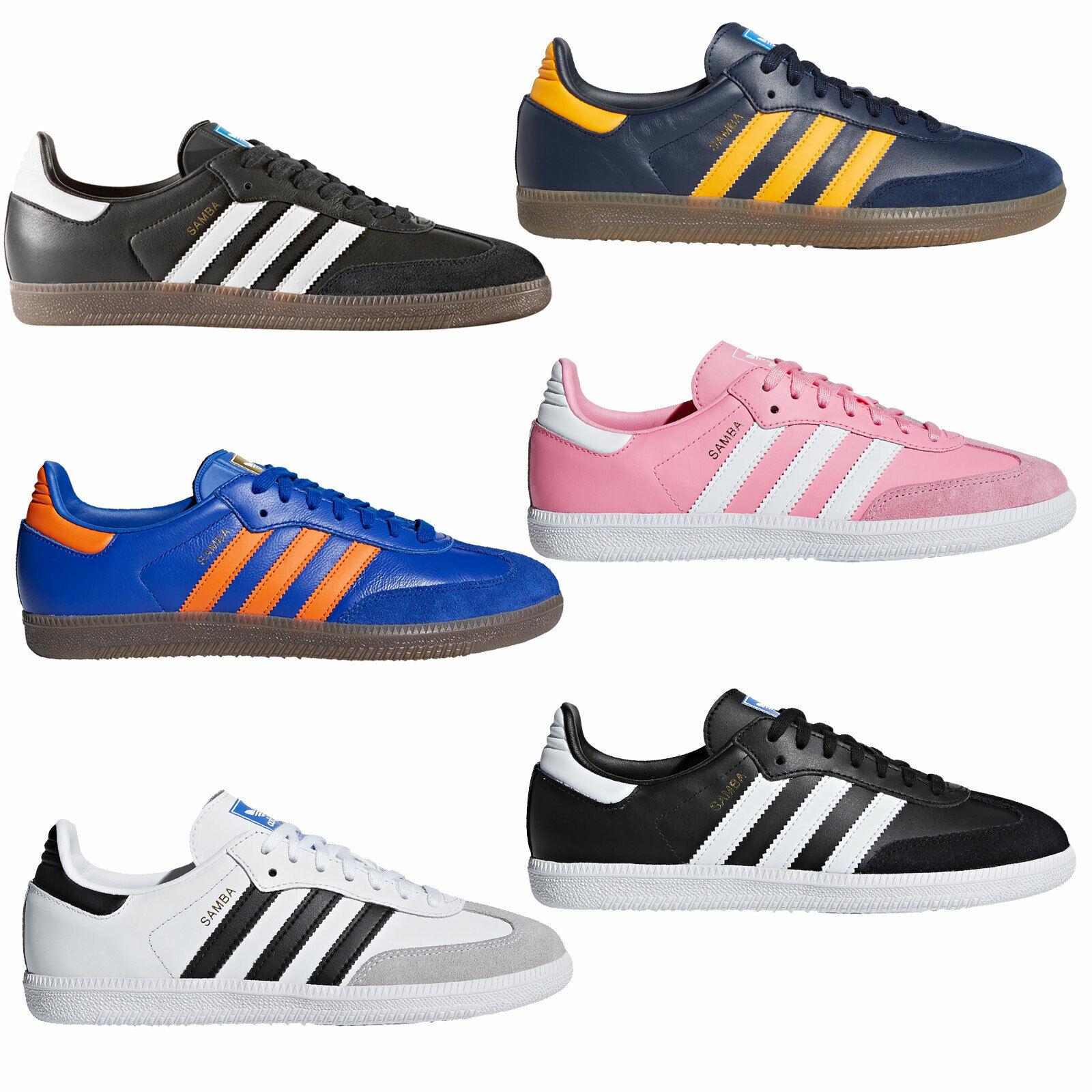 Adidas Originals Samba Damen-Turnschuhe Turnschuhe Sportschuhe Lederschuhe Schuhe