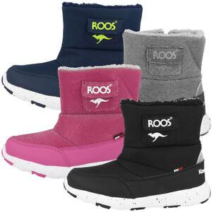 100% authentic 677a2 b9243 Details zu KangaROOS Snowball Kinder Stiefel Winter Schuhe Schnee Boots  Winterstiefel 02028