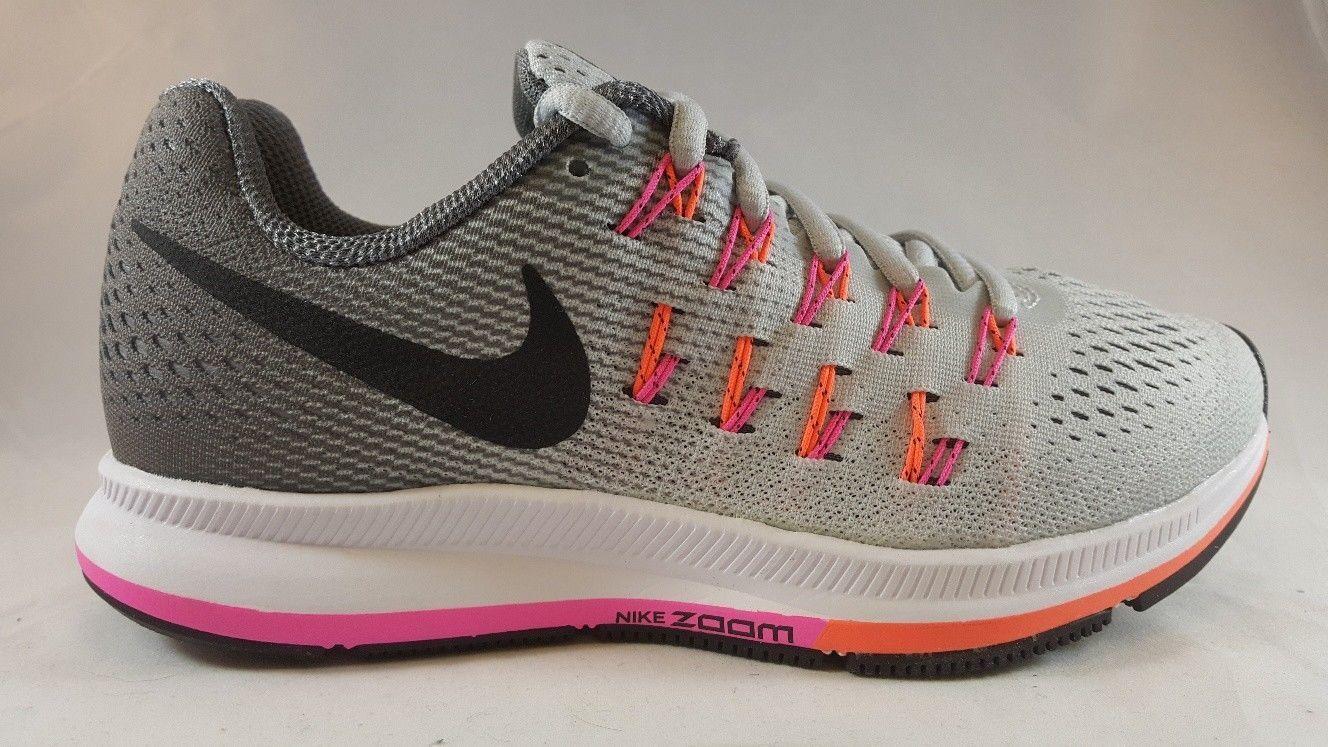 Nike Air Zoom Pegasus 33 (W) Women's Athletic Shoe 831357 006 Size 5