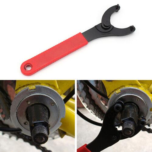 Adjustable Bicycle Bike Cycling MTB Bracket Axis Wrench Spanner Repair 12.6CM