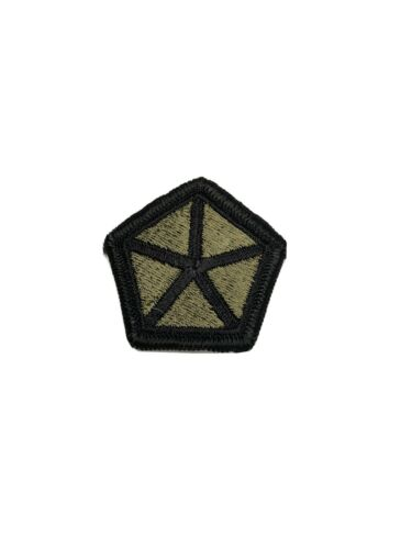 Army Shoulder Patch Insignia V Army Corps// 5th Army Corps Subdued U.S