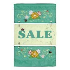Open Sale Garden Flag Retail Shops Business Applique Small Flag New Creative