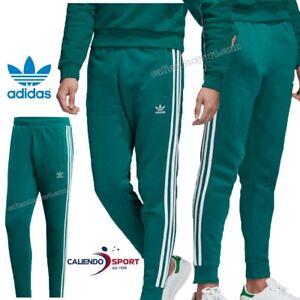 pantaloni adidas verdi militare