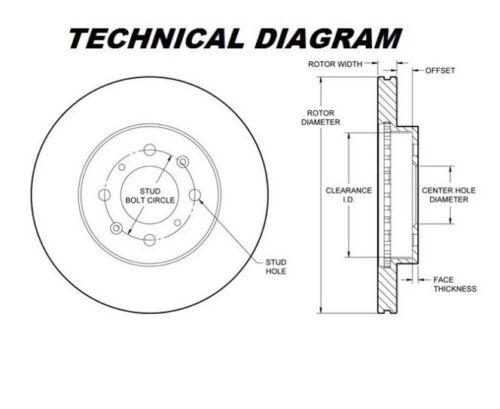 1991-97 OEM SPEC FRONT DISCS AND PADS 288mm FOR SUZUKI VITARA 1.6 TD01