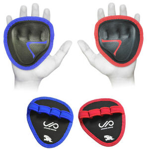 JP-Hand-Grip-Weight-Lifting-Pads-Workout-Gloves-Gym-Fitness-Pro-Palm-Grip-Pair