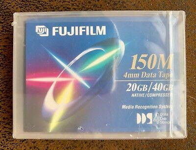 (1) Fujifilm 150m 20gb Native /40gb Compressed 4mm Data Tape Cartridge New Het Comfort Van Het Volk Aanpassen