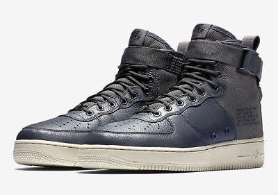 Nike SF Air Force 1 MID Men's Sportswear Shoes Dark Grey Light Bone 917753 004 | eBay