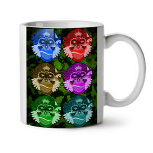 Monkey Beast Wild NEW White Tea Coffee Mug 11 oz | Wellcoda