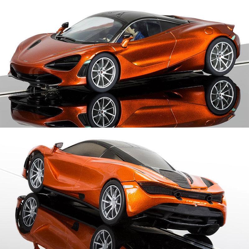 SCALEXTRIC Digital ARC Pro Slot Car C3895 McLaren 720S - Azores orange