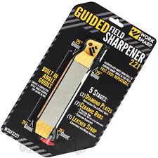 Work Sharp - Guided Field Knife & Tool Sharpener WSGF221 Portable Kit