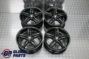 BMW-1-Series-E81-E87-Grey-Complete-Set-4x-Wheel-Alloy-Rim-18-034-M-double-Spoke-208