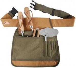 Gartenwerkzeugtasche Umhängetasche Tasche Gartenhelfer Schürze Esschert GT04