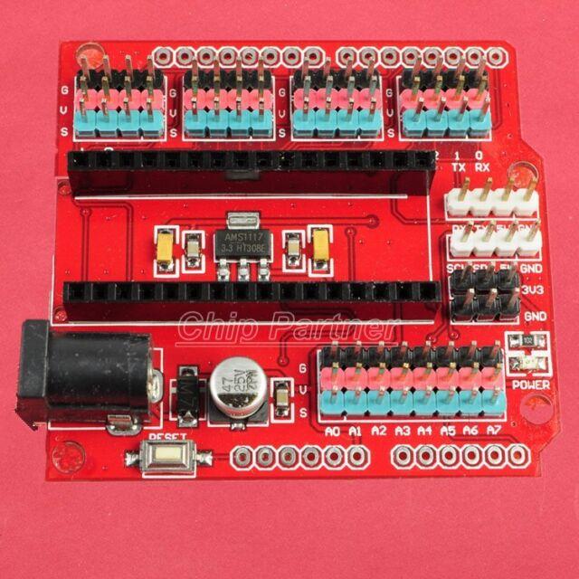 Nano Prototype Shield I/O Extension Board For Arduino Nano 8 analog 6 PWM Pin
