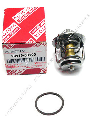 Genuine TOYOTA Thermostat 90916-03100 9091603100 With Gasket