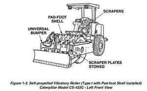 caterpillar cs 433c roller 3054 engine service repair operator rh ebay com 3054C Cat Engine Parts Online 3054C Cat Engine Parts Online