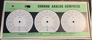 Rare! 1960 The Edmund Analog Computer Kit No. 70341 - Edmund Scientific Company