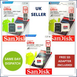 32/64/128GB Carte Mémoire MICROSD pour Samsung Galaxy A9 Star, A8Duos, A70s,