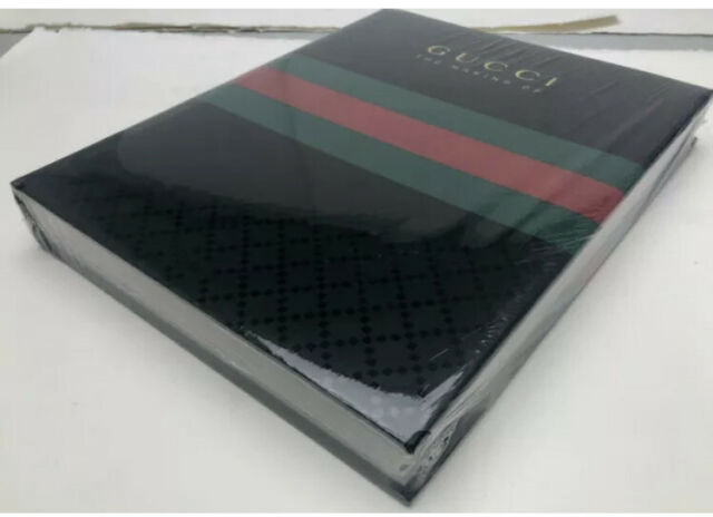 New Sealed GUCCI: The Making Of (2011) Hardcover Coffee Table Book Rizzoli