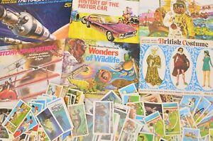 Collection of 9 1960s/1970s Brooke Bond Collector's Albums and Picture Tea Cards