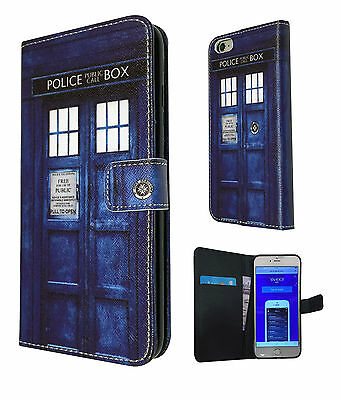 Doctor Who Tardis Case Flip Cover For iphone 5 SE 5 5C 6 6S /6S Plus 5.5''