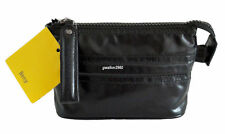 MANDARINA DUCK BLACK LEATHER COSMETIC/CLUTCH BAG BNWT