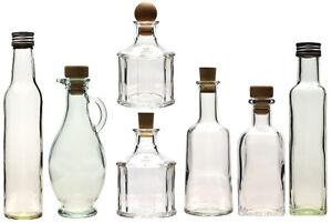 250 Ml Leere Glasflaschen Schnapsflaschen Likorflaschen Flaschen