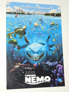 Finding nemo ex 135x195 ds promo movie poster ebay image is loading finding nemo ex 13 5x19 5 d s promo altavistaventures Image collections