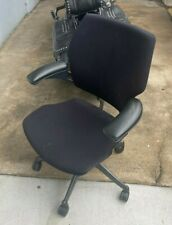 Humanscale Freedom Adjustable Swivel Fabric Office Chair Black
