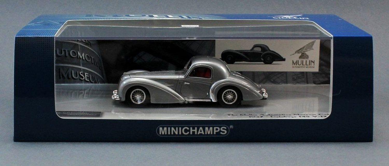 DELAHAYE 145 V12 COUPE 1937 MINICHAMPS 437116120 1/43 MULLIN AUTOMOTIVE MUSEUM