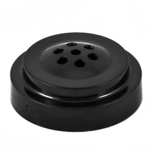 Plinth for table flag with 7 Holes-Black Plastic-New