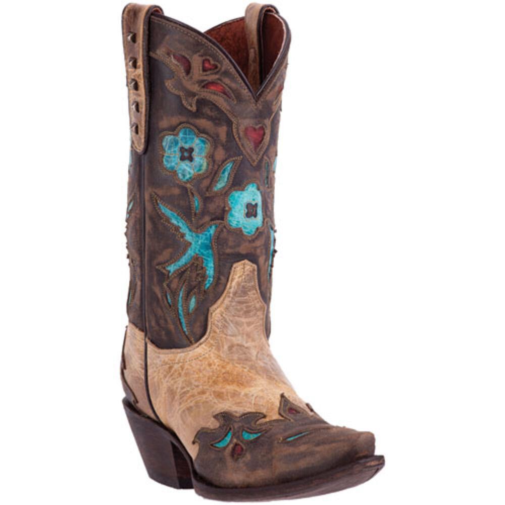 Dan Dan Dan Post Ladies Vintage blueebird Boot DP3538 7f664d