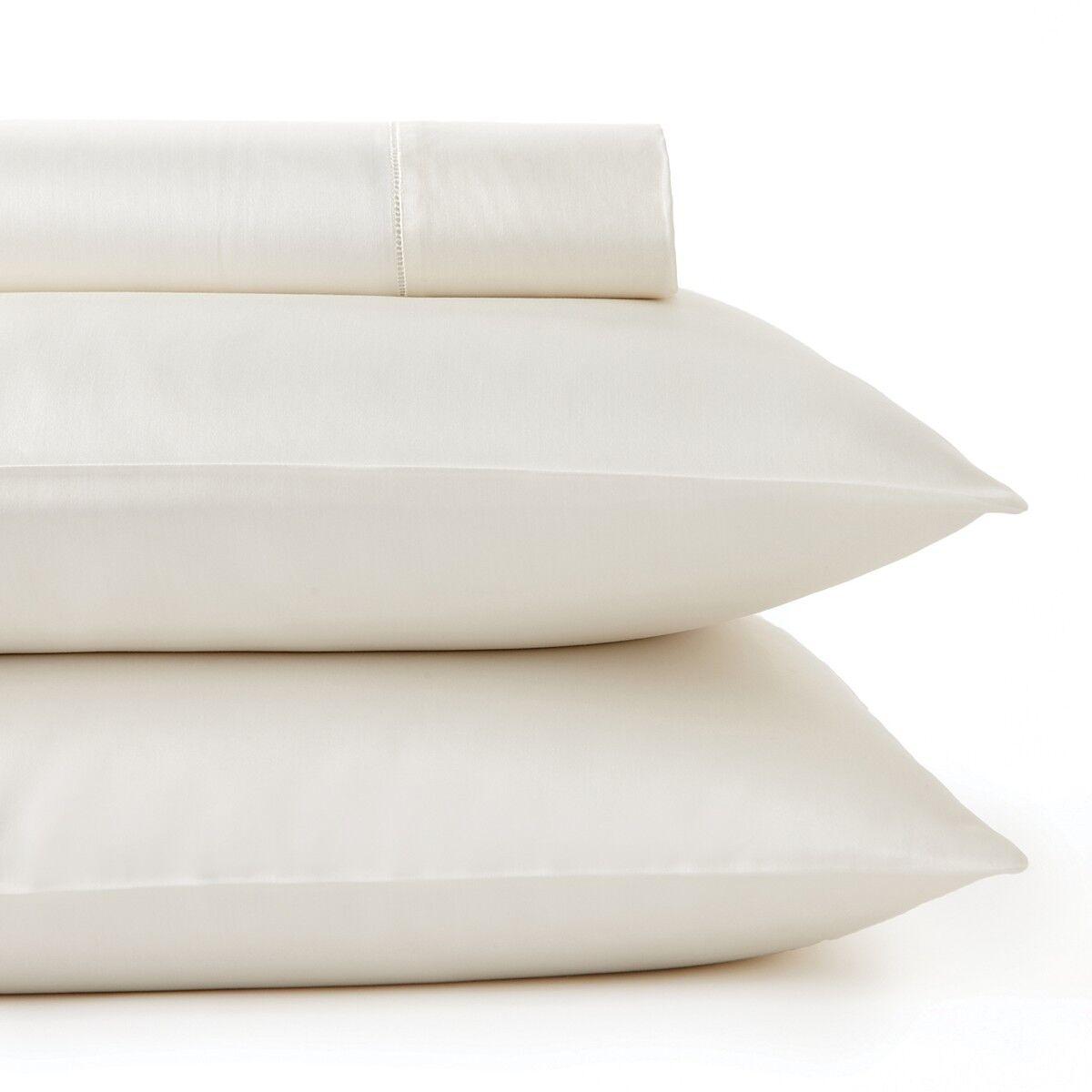 Sferra Giotto 734 Bedding 100% Egyptian Cotton QUEEN Flat Sheet IVORY  350 C616