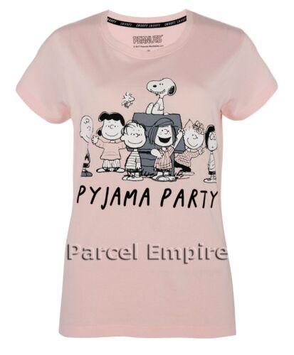 Primark SNOOPY Cami Set Official//Camicia da Notte Pigiama canotta shorts PJ Pajama T-shirt