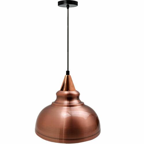 Modern Vintage Industriel Style Lumière Abat-jour plafond Lumière Pendentif Abat-jour