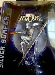 Série Titanium Marvel Legends Silver Surfer 2006, micro-machines 653569246459