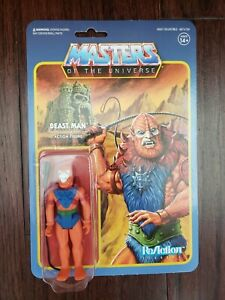 Super7 ReAction MOTU Masters of the Universe Beastman with Weapons Action Figure