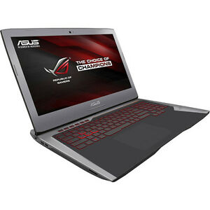 asus rog g752vy 17 inch gaming laptop 256gb ssd 1tb hdd