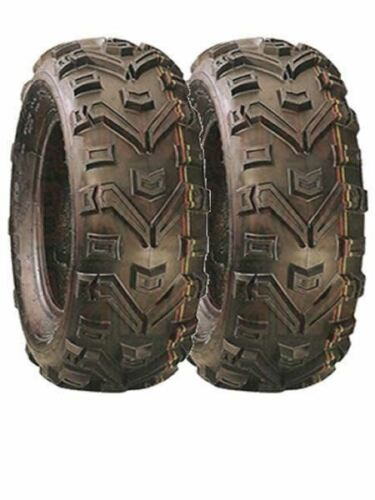 Pair Of Duro Buffalo Quad Tyres 6 Ply 25x10x12 E Marked Road Legal