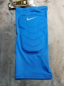 c5a92dd910 Image is loading Nike-Pro-Combat-Hyperstrong-Compression-Shin-Sleeve-Blue-