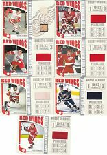 04-05 ITG Franchises US West Jersey Dino Ciccarelli #WSM5 Red Wings /70