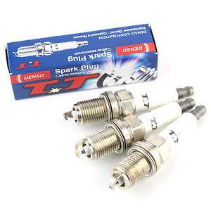 3x Daihatsu Sirion 1.0i 4WD Genuine Denso Iridium Power Spark Plugs