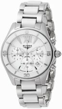 New Womens Elysee 13202 Victoria Chronograph Bracelet Watch