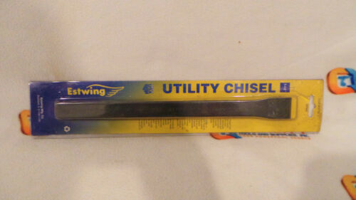 "New Estwing 22790 1-1//8/"" Utility Chisel Black Oxide Finish"