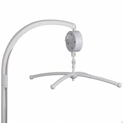 Baby Crib Mobile Bed Bell Bracket + Wind-Up/Auto Music Box