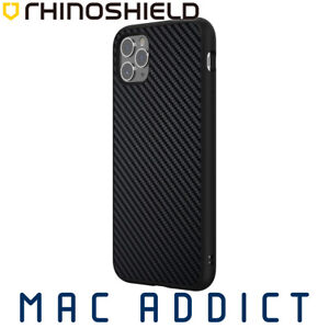 Rhinoshield Solidsuit Carbon Fibre Drop Protection Case For Iphone 11 Pro Max Ebay