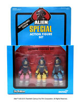 Reaction Alien Special Action Figure Set Of 3 Kane, Dallas, Lambert Nycc 2015