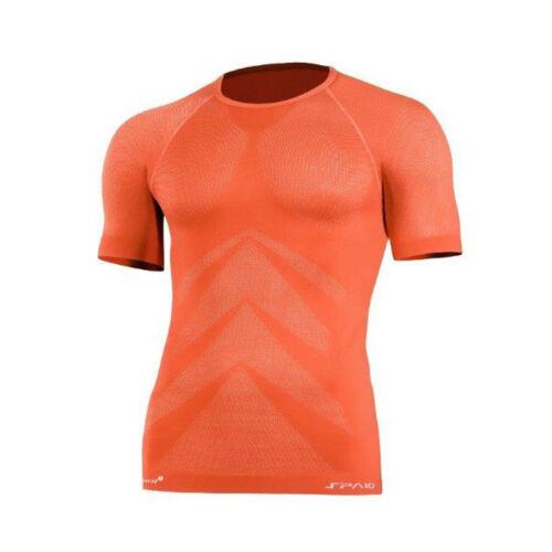 Fitness Funktionsshirt Jogging Laufshirt Bergsteigen & Klettern sehr leicht 3D ELASTISCH  Thermoaktiv